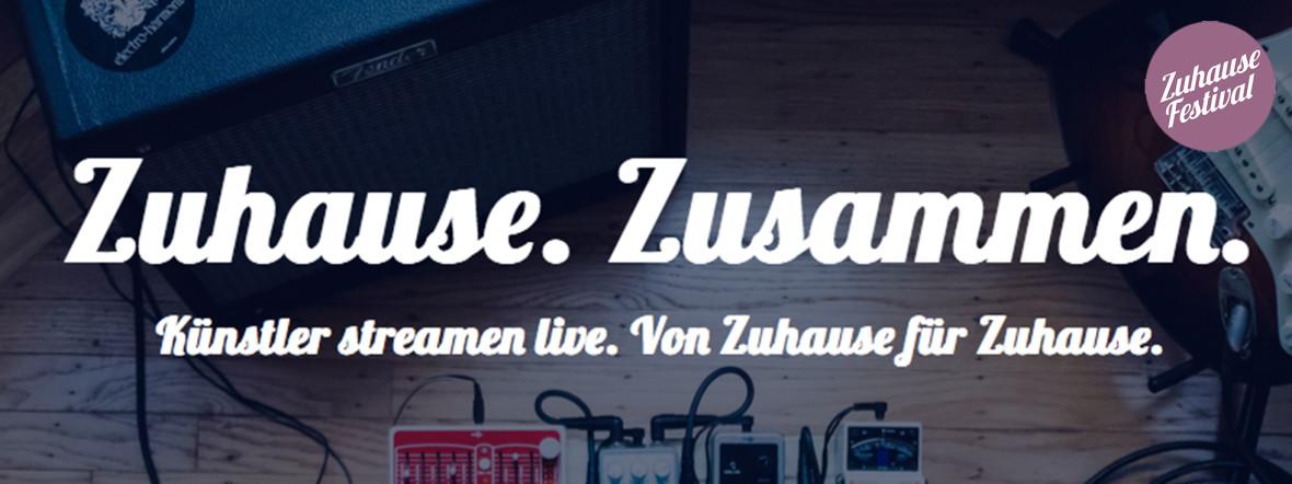 Das Zuhause Festival bringt Künstler*innen dank Livestream in Euer Wohnzimmer, Foto: Zuhause Festival
