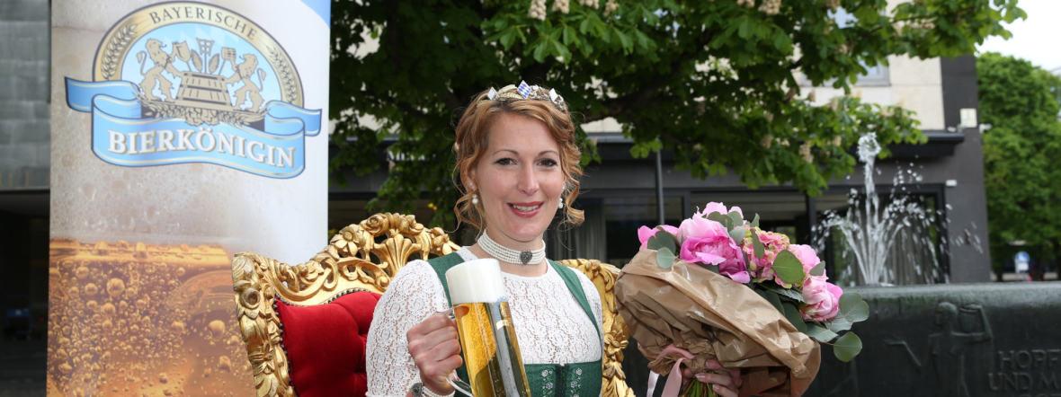 Bayerische Bierkönigin Sarah Jäger, Foto: Bayerischer Brauerbund
