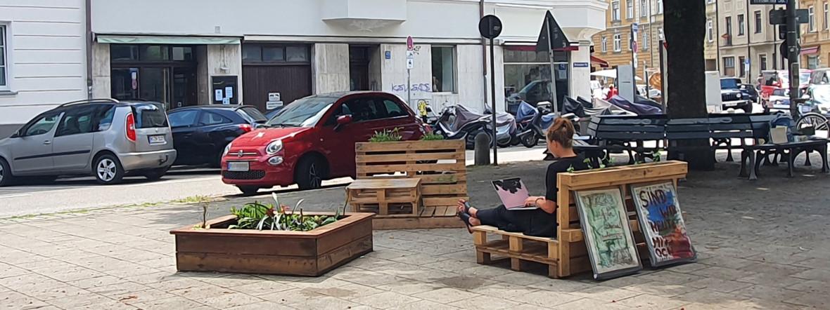 In München können Stadtterrassen entstehen., Foto: Saskia Ziegler