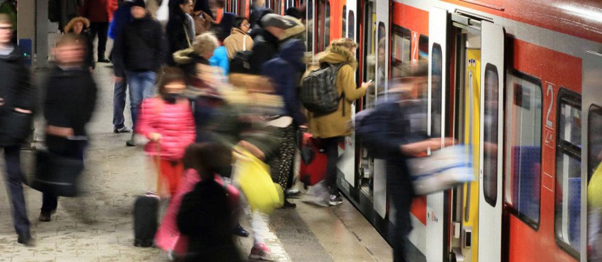 S-Bahn in München., Foto: Uwe Miethe/Deutsche Bahn AG