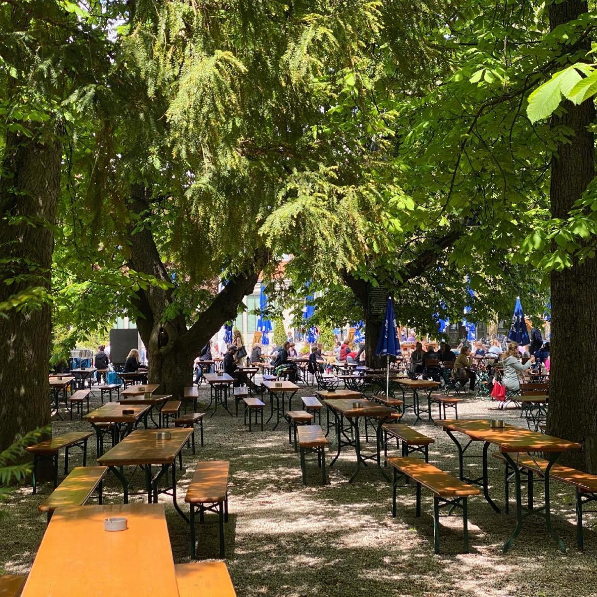 Biergarten Wirtshaus am Bavariapark, Foto: Anette Göttlicher