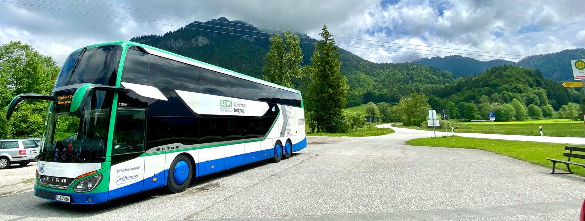 Der Münchner Bergbus des DAV, Foto: Anette Göttlicher