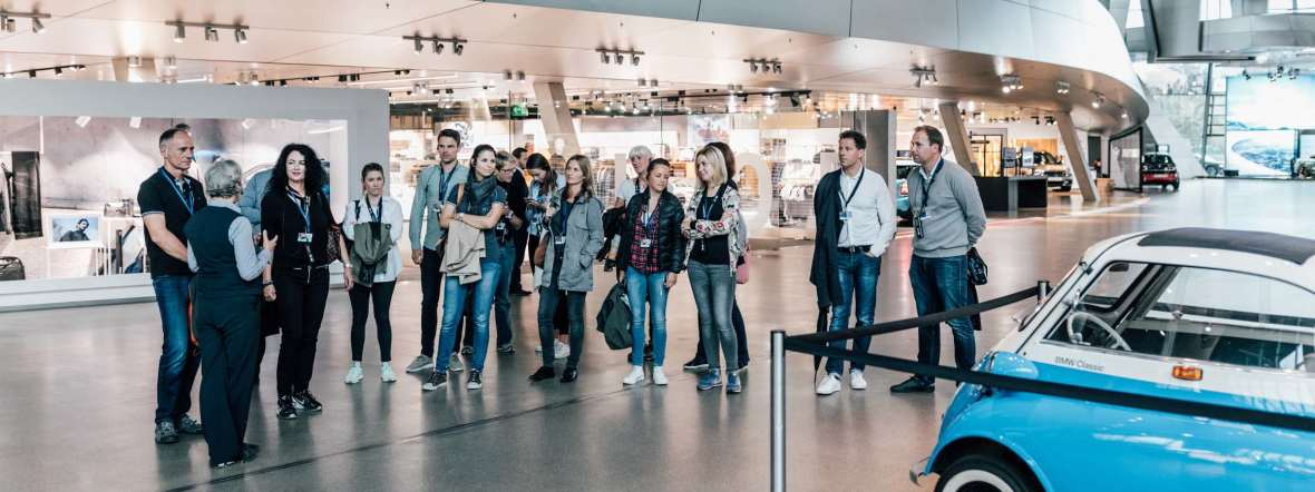 Guided tours at BMW Welt, Foto: BMW