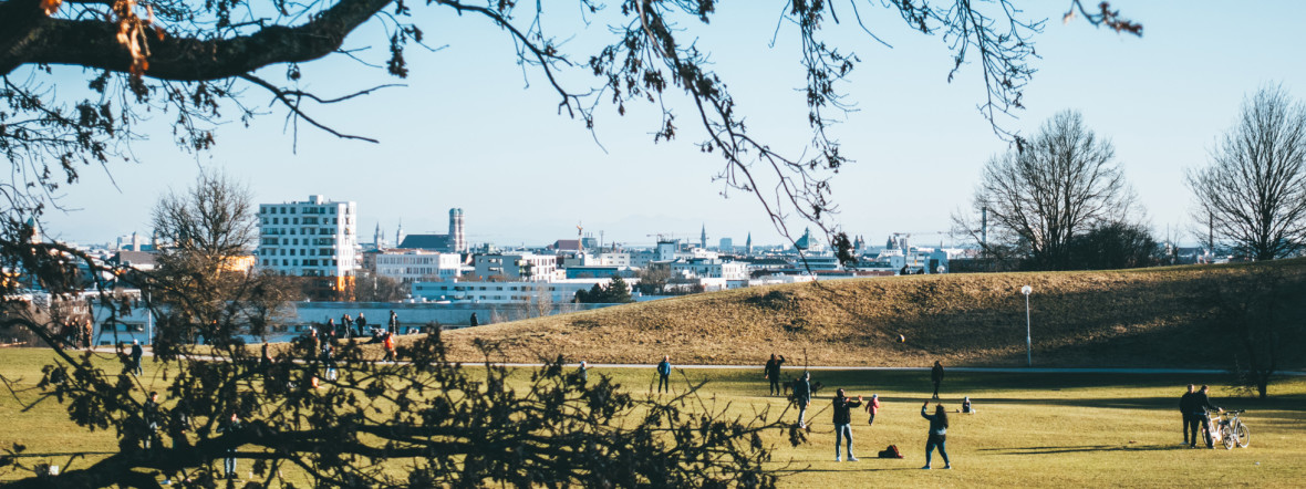 Olympiapark im Frühling, Foto: Anette Göttlicher