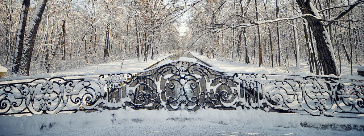 Winter im Schlosspark Nymphenburg, Foto: Anette Göttlicher