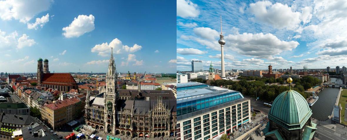 München oder Berlin