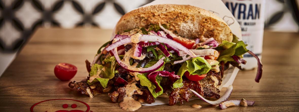 Klassischer Döner im Hans Kebab, Foto: Herbolsheimer Fotografie