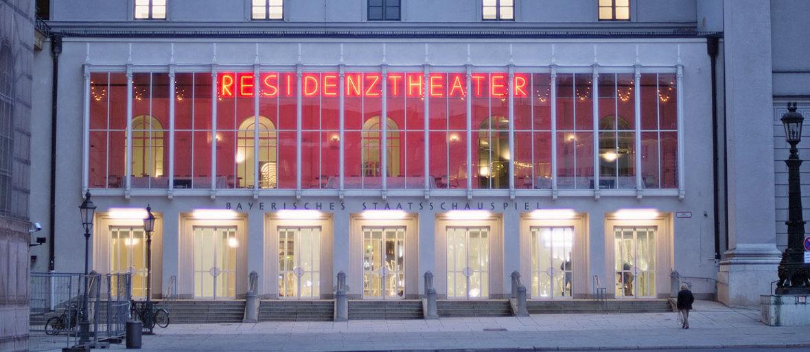 Residenztheater von außen, Foto: Residenztheater München