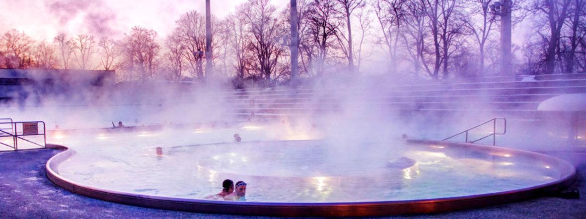Das Dantebad im Spätherbst, Foto: SWM / Steffen Leiprecht