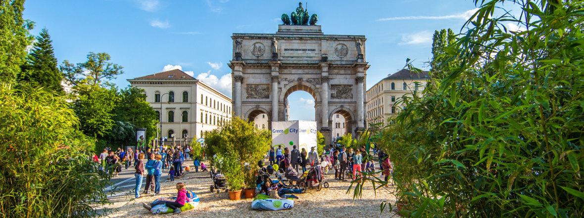 Streetlife Festival am Siegestor, Foto: Andreas Schebasta