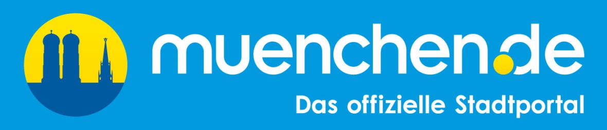 muenchen.de Logo mit Icon und Schriftzug
