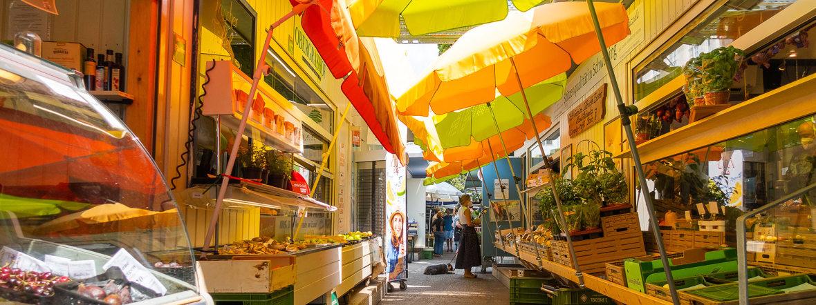 Sommer auf dem Elisabethmarkt, Foto: Anette Göttlicher