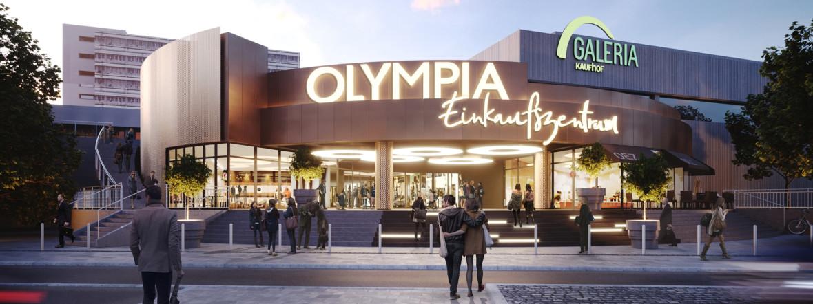 Außenansicht Olympia-Einkaufszentrum , Foto: OEZ