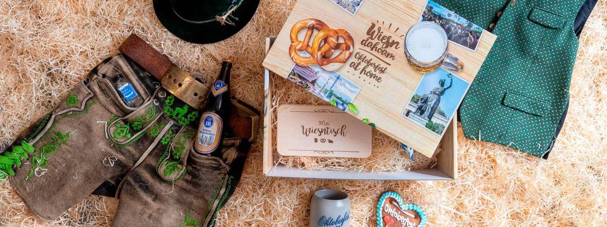 Sortiment des Oktoberfestshops, Foto: Oktoberfest Shop