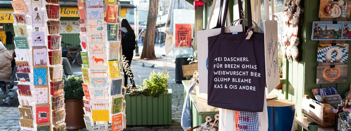 Mitbringsel vom Viktualienmarkt, Foto: Anette Göttlicher