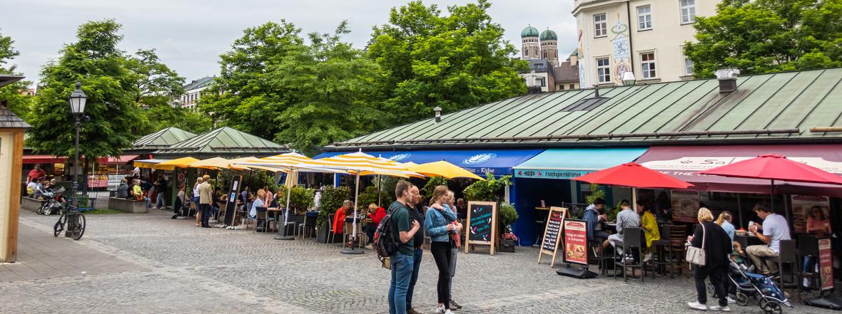 Viktualienmarkt, Foto: Anette Göttlicher