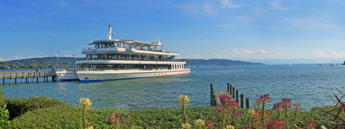 Schiff am Starnberger See, Foto: Starnberger See