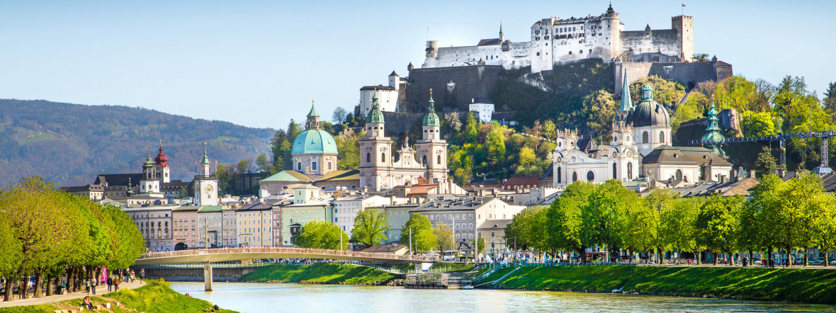 Panorama von Salzburg, Foto: Shutterstock / canadastock