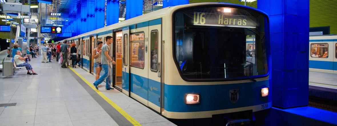 U6 Münchner Freiheit