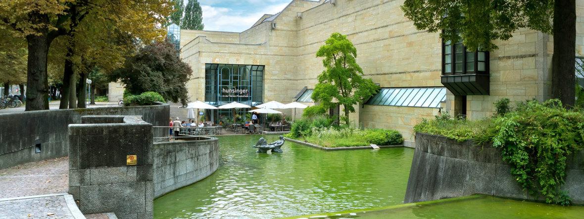 Die Neue Pinakothek in München