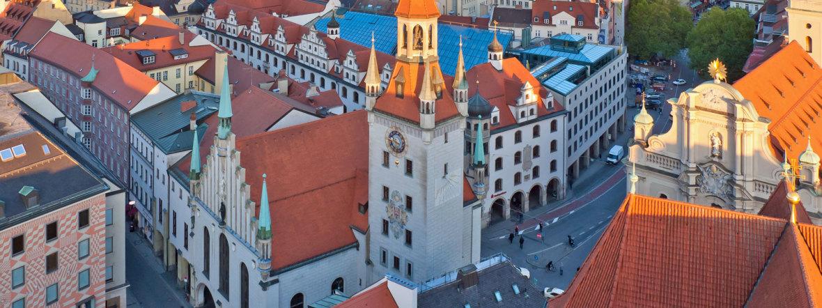 Altes Rathaus von oben