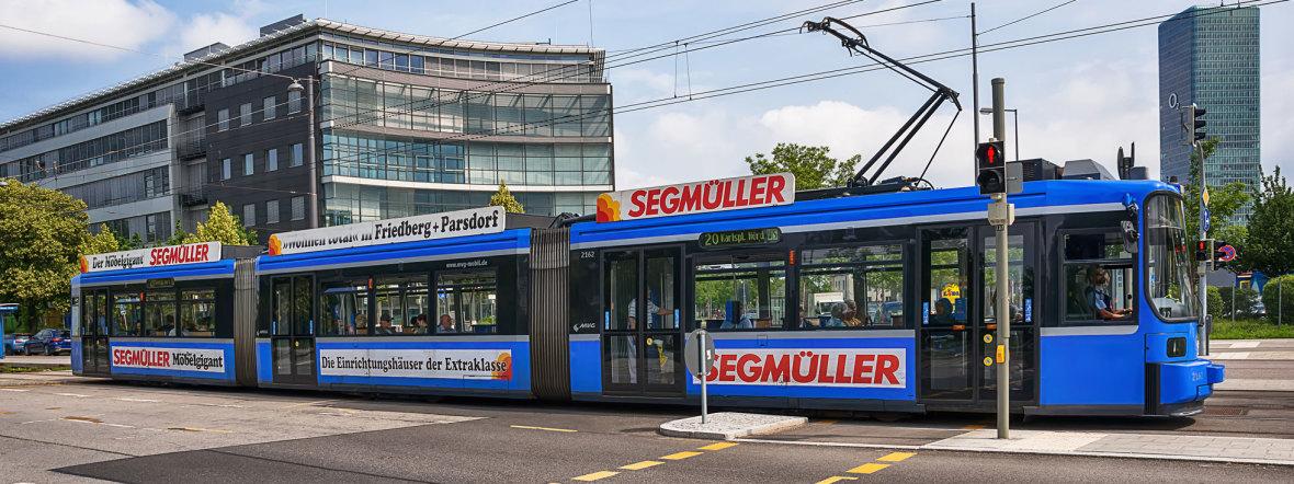 Tram in München