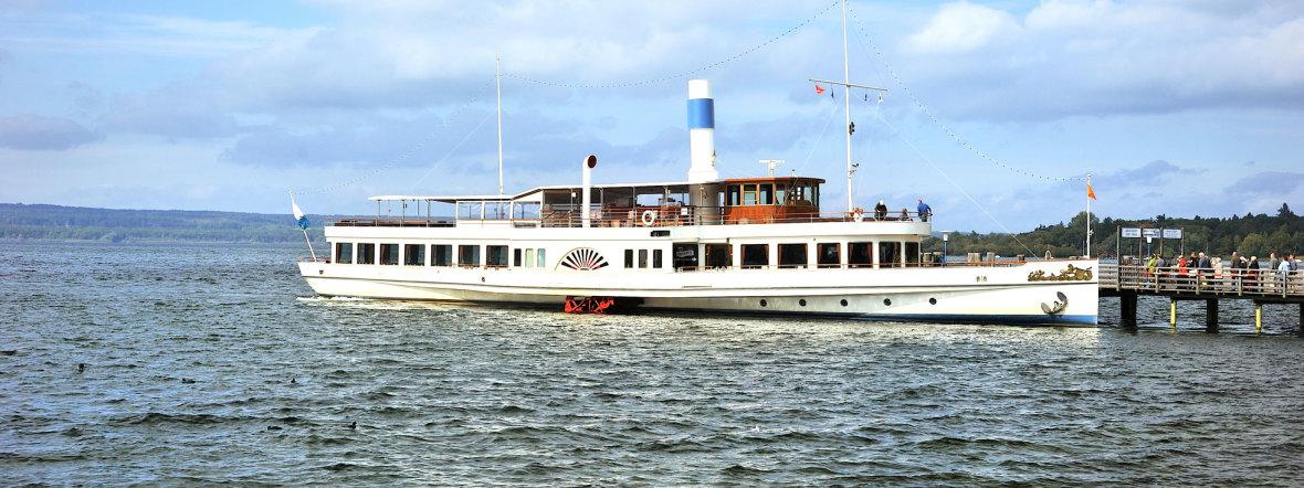 Schiff auf dem Ammersee