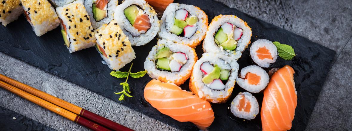 Sushi an allerlei Variationen