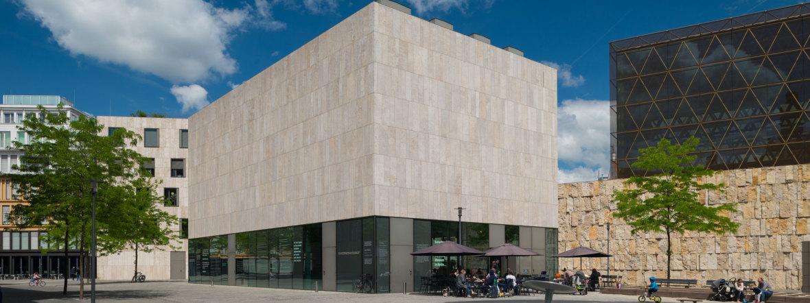 Jüdisches Museum - Außenaufnahme, Foto: Daniel Schwarcz