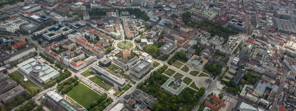 Kunstareal, Foto: www.juergen-reichmann.de