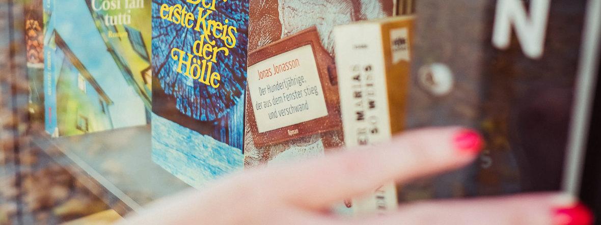 Bücherschrank am Stiglmaierplatz, Foto: Anette Göttlicher