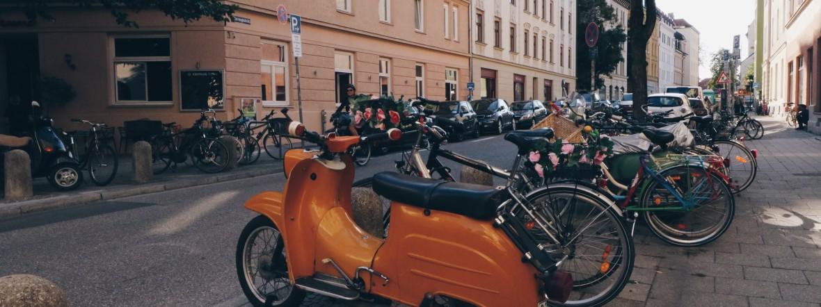 Straße in Sendling, Foto: Marie-Lyce Plaschka