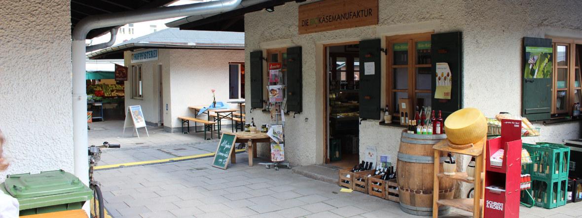 Elisabethmarkt in Schwabing, Foto: Kommunalreferat