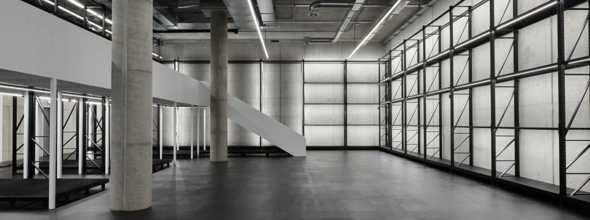 Neuer Raum für die Pinakothek der Moderne: X-D-E-P-O-T, Foto: Gerhardt Kellermann