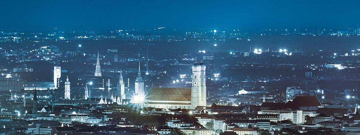 SWM München leuchtet, Foto: SWM