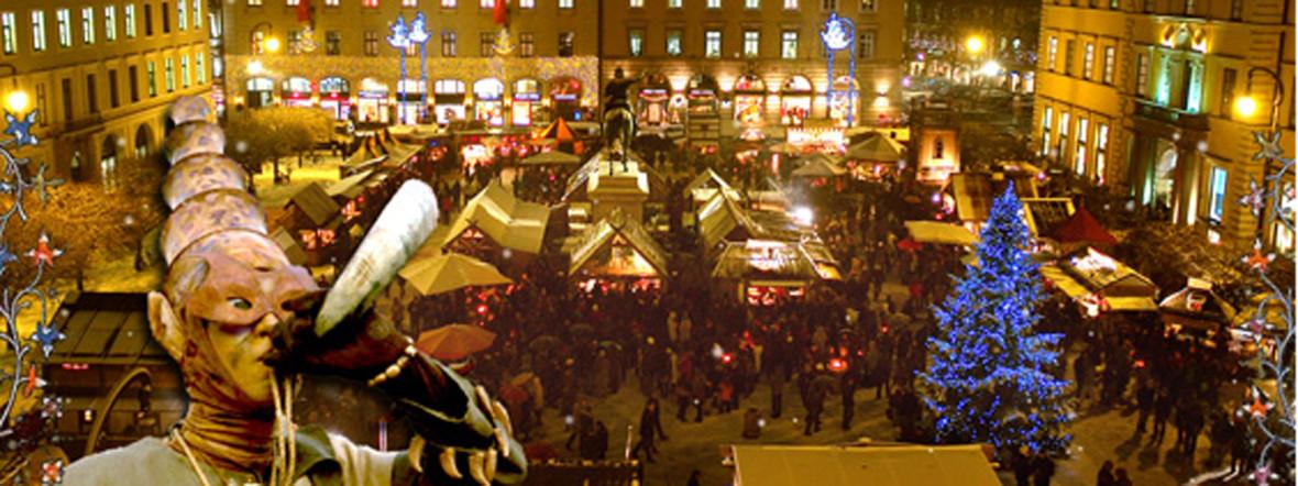 Mittelaltermarkt am Wittelsbacherplatz, Foto: Mittelaltermarkt am Wittelsbacherplatz