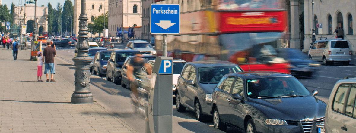Parken, Foto: Kreisverwaltungsreferat / Dominik Parzinger