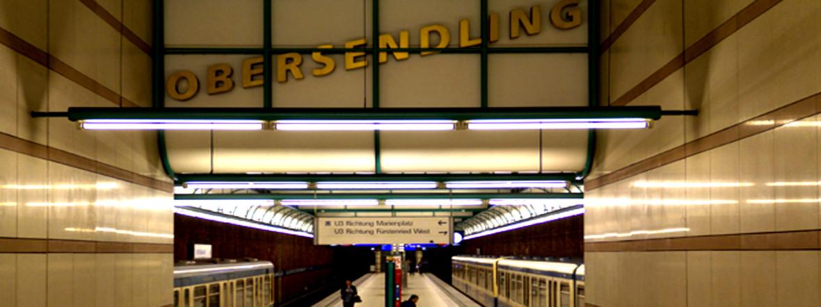 U-Bahnhof Obersendling, Foto: Katy Spichal