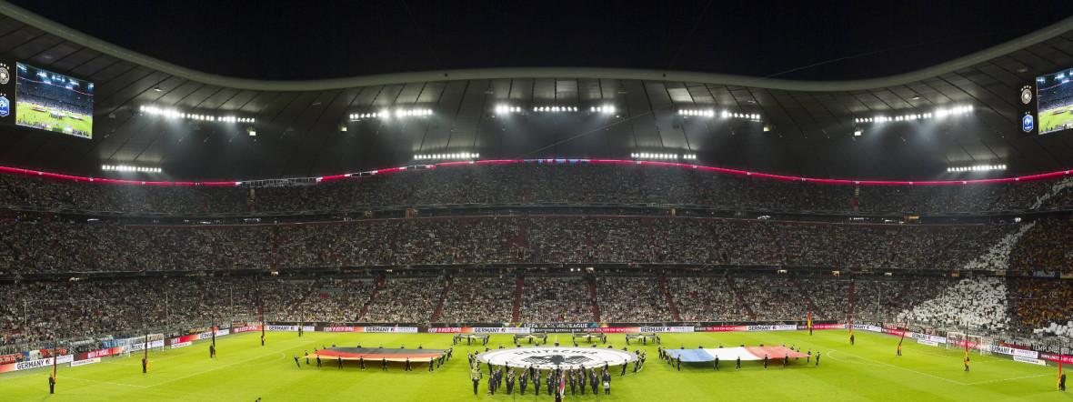 Allianz Arena innen, Foto: imago images / Plusphoto