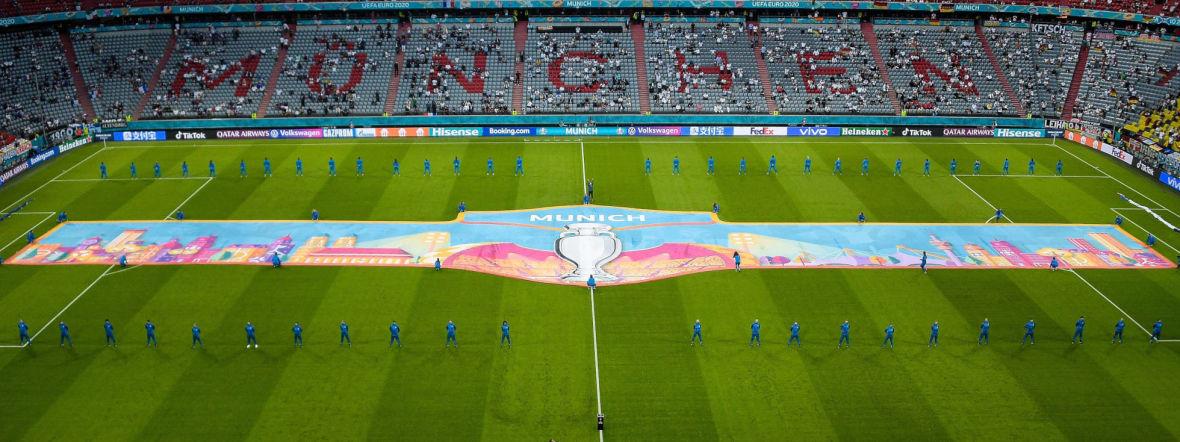 Fußball Arena München bei der UEFA EURO 2020, Foto: IMAGO / PanoramiC