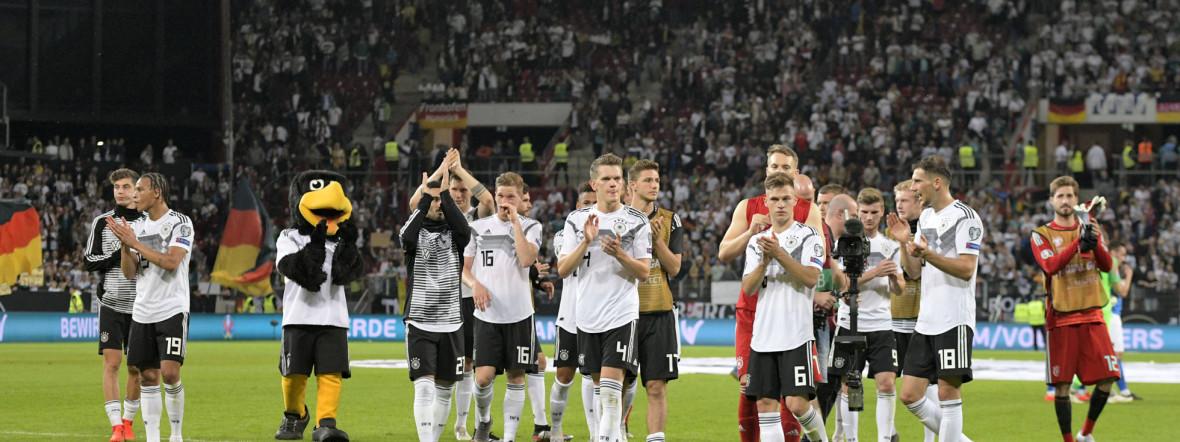 Die Spieler der Deutschen Nationalmannschaft fiebern der EM 2020 entgegen, Foto: imago images / MIS
