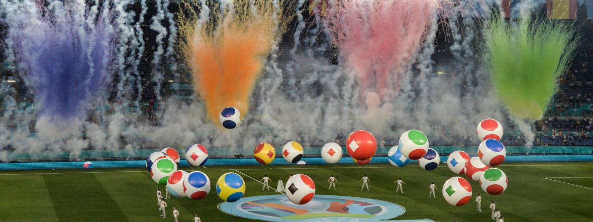 Eröffnungsfeier der UEFA EURO 2020 in Rom, Foto: imago images/Insidefoto