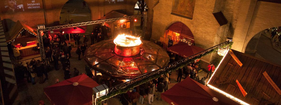 Feuerzangenbowle im Isartor, Foto: muenchen.de / Mònica Garduno
