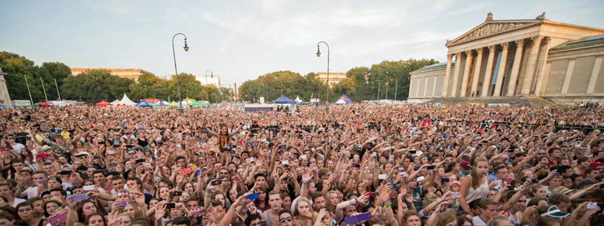 Oben Ohne Zuschauer, Foto: Oben Ohne Open Air