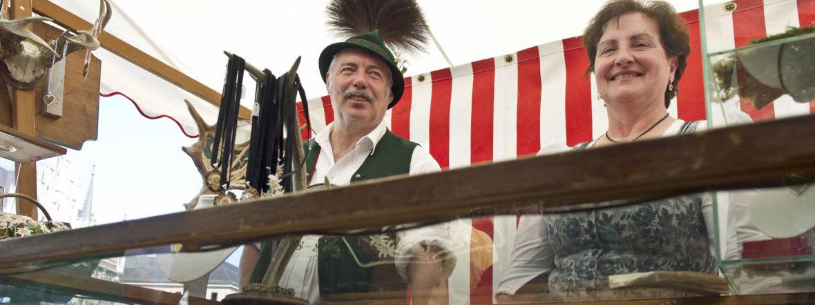 Stadtgründungsfest Trachtenmarkt, Foto: Lukas Barth
