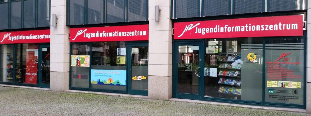 Das Münchner Jugendinformationszentrum (JIZ) in der Sendlinger Straße 7, Foto: JIZ