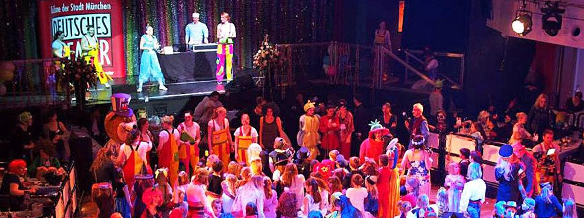 Archivbild: Kinderfasching im Deutschen Theater, Foto: muenchen.de/Katy Spichal