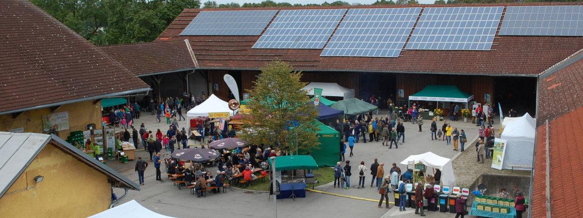 Ökologisches Hoffest in Riem , Foto: Kommunalreferat München