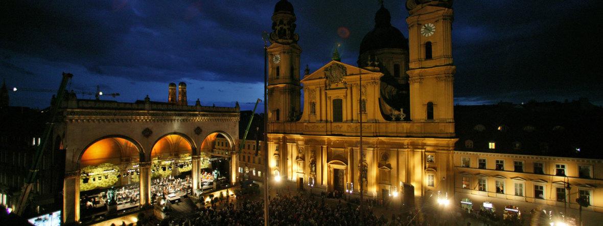 Klassik am Odeonsplatz, Foto: Michael Heeg
