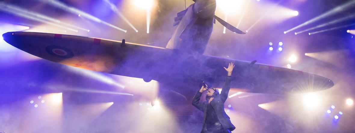 Iron Maiden beim Rockavaria 2018., Foto: picture alliance/Peter Kneffel/dpa